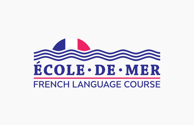 Ecole De Mer Logo Design