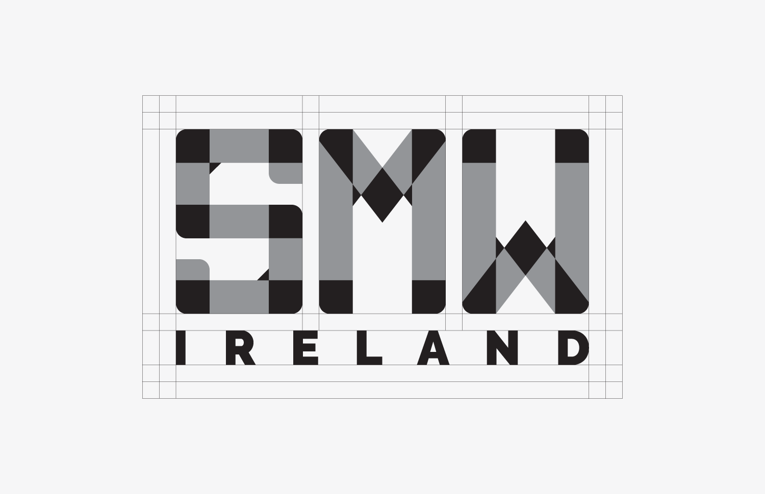 Social media week ireland logo design project