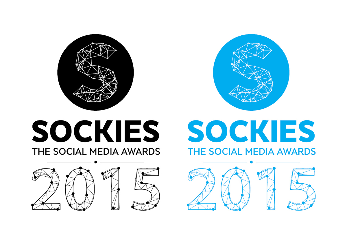Sockies Logo variation bw