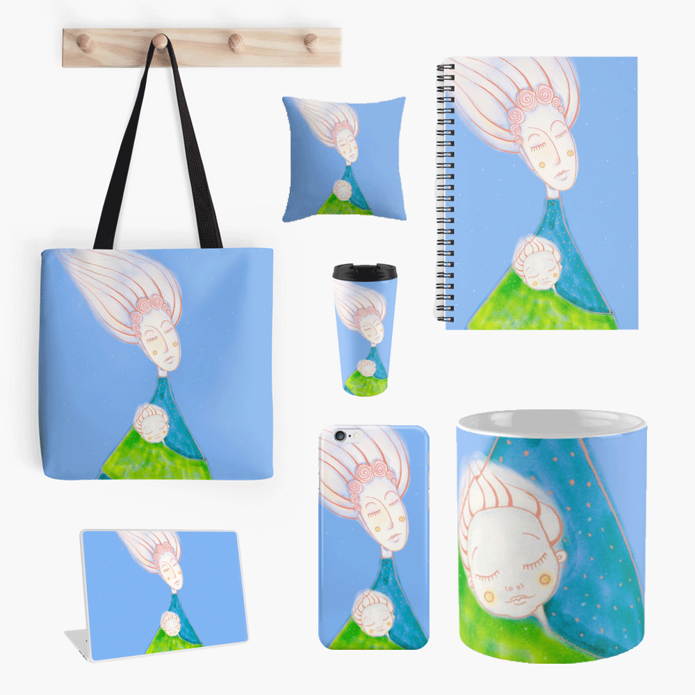 Illustration painting set