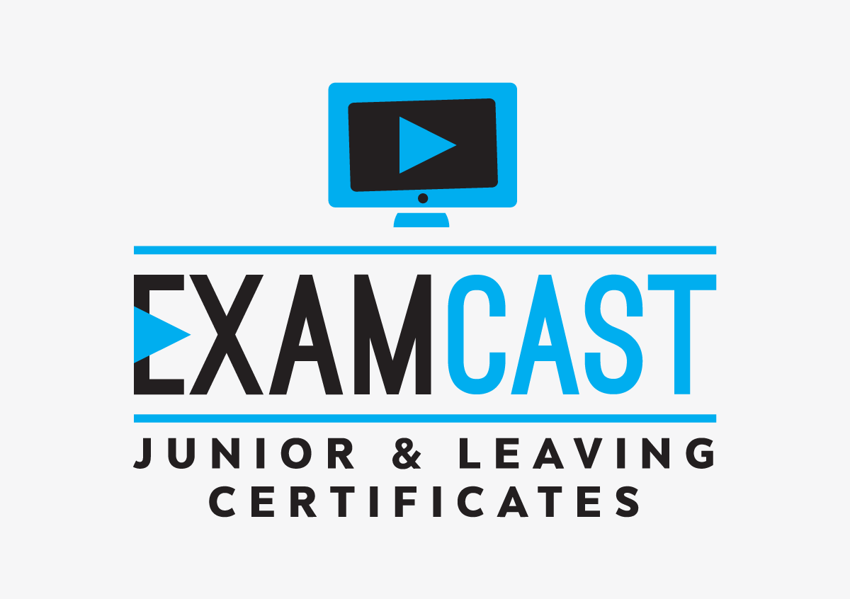ExamCast logo design