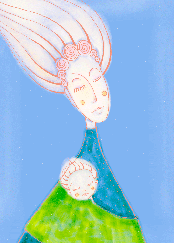 Illustration painting