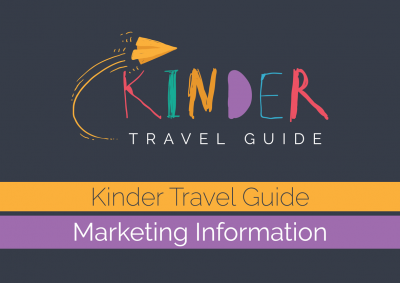 Kinder Travel Guide web booklet cover