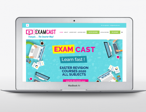 Examcast web design
